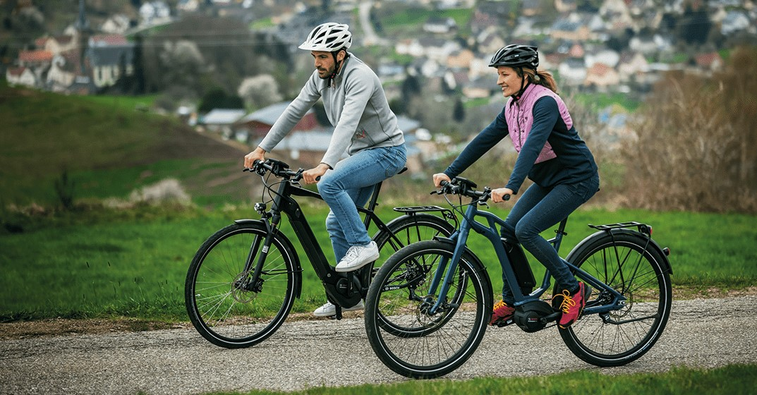 Does e-bike driving promote health?