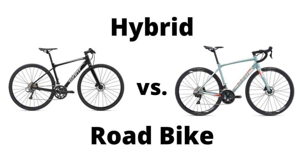 Road Bikes vs Hybrid