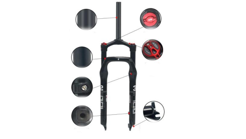 Best fat bike suspension fork