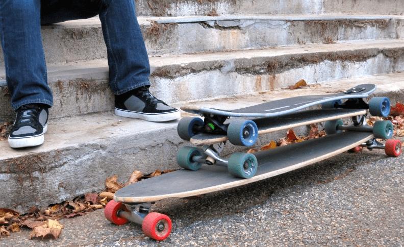 Skateboard vs Cruiser vs Longboard-min